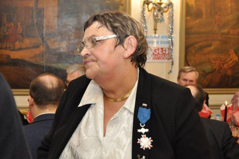Jolanta Maria Dźwigała jest prezesem Stowarzyszenia Obrońców Krzyża we Francji