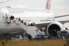 Ewakuacja z tureckiego samolotu, 30 lipca