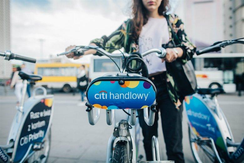 Każdy warszawski rower ma swój numer, a każdy użytkownik - konto w aplikacji