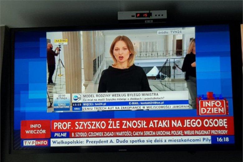 Dziennikarz portalu Onet.pl nie wytrzymał, gdy zobaczył do TVP Info pisze po śmierci Szyszko.
