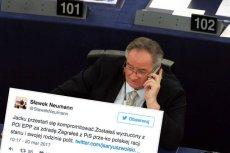 Jacek Saryusz-Wolski zapowiada zaskarżenie decyzji o wyrzuceniu go z komisji. Politycy PiS proszą, żeby przestał się kompromitować.