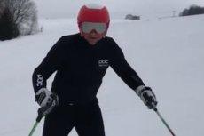 Prezydent Andrzej Duda zakończył sezon narciarski 2018/2019.