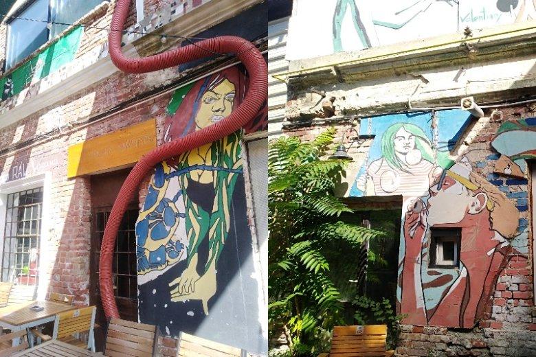 Street art w Bukareszcie