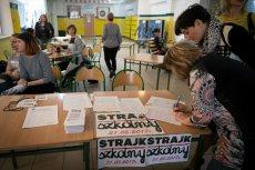 Nauczyciele domagali się spotkania z premierem. Zamiast Mateusza Morawieckiego przyjdzie minister Anna Zalewska.