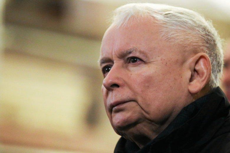 Prezes Jarosław Kaczyński będzie miał o czym myśleć.