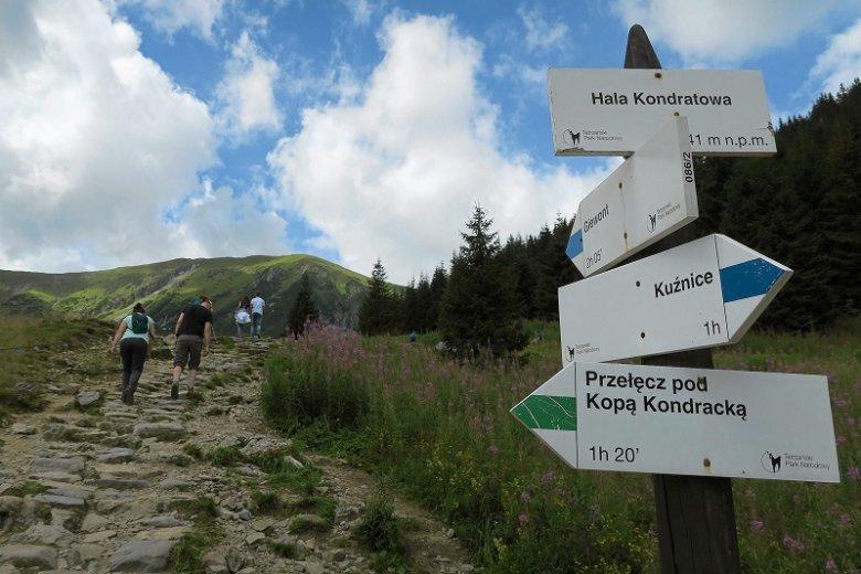 Turystka opowiedziała, co działo się w Tatrach przed burzą.