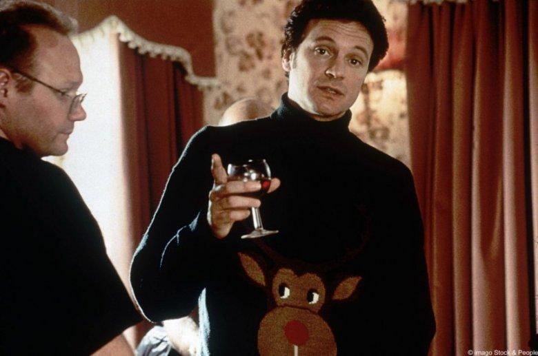 Mark Darcy w swetrze świątecznym
