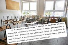 Na świadectwa szkolnych ma się pojawić nowy przedmiot.