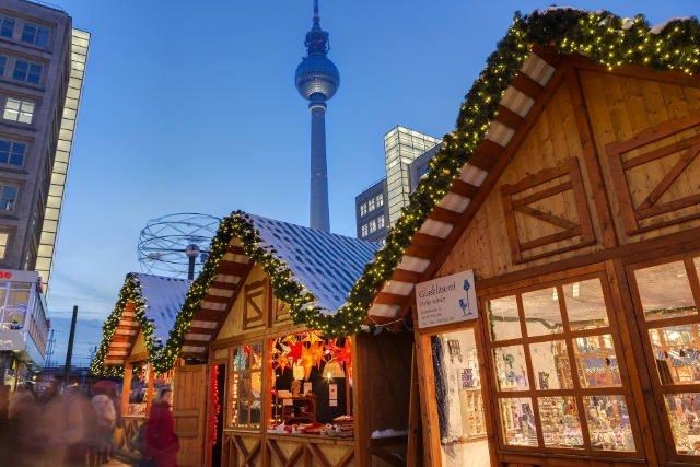 Jarmark świąteczny na Alexanderplatz