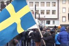 W sobotę w Sztokholmie odbyła się demonstracja przeciwników  imigracji.