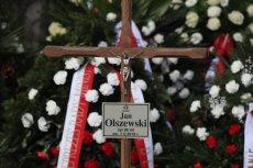 W sobotę odbył się pogrzeb Jana Olszewskiego.