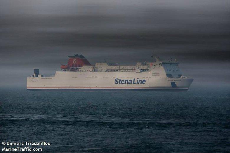 Stena Line także można śledzić na żywo podczas jego trasy z Gdyni do Szwecji.