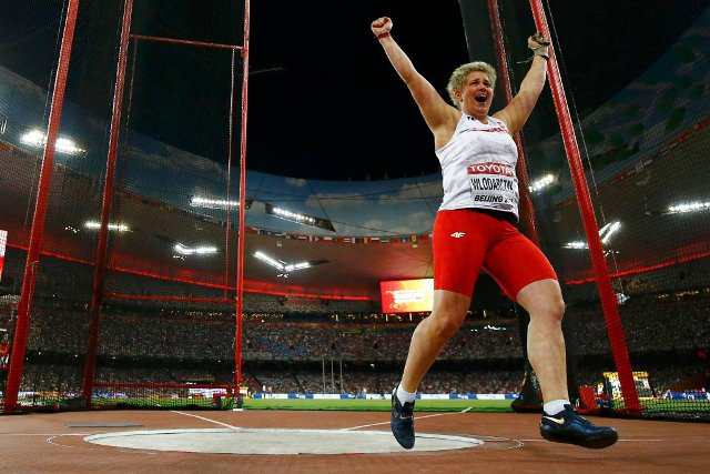 Anita Włodarczyk - złoty medal w Amsterdamie