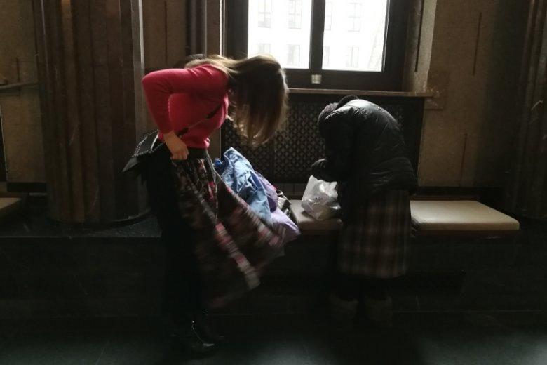 W środę odwiedziliśmy panią Marię.