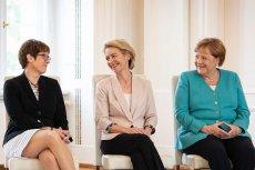 Szefowa CDU Annegret Kramp-Karrenbauer została nową minister obrony narodowej Niemiec po tym, jak ze stanowiska zrezygnowała Ursula von der Leyen.