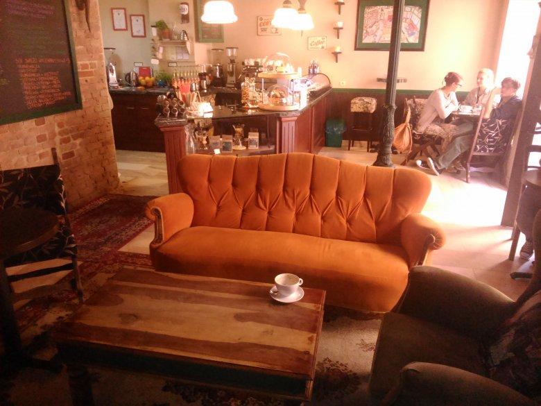Kawa kawusia? Polecam Central Coffee Perks. Coś dla fanów serialu Friends.
