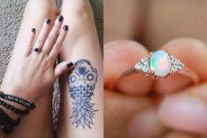 Wystarczy trochę poszukać, aby znaleźć mnóstwo ciekawych i oryginalnych pierścionków zaręczynowych