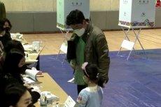 Mimo pandemii koronawirusa w Korei Południowej odbyły sie wybory