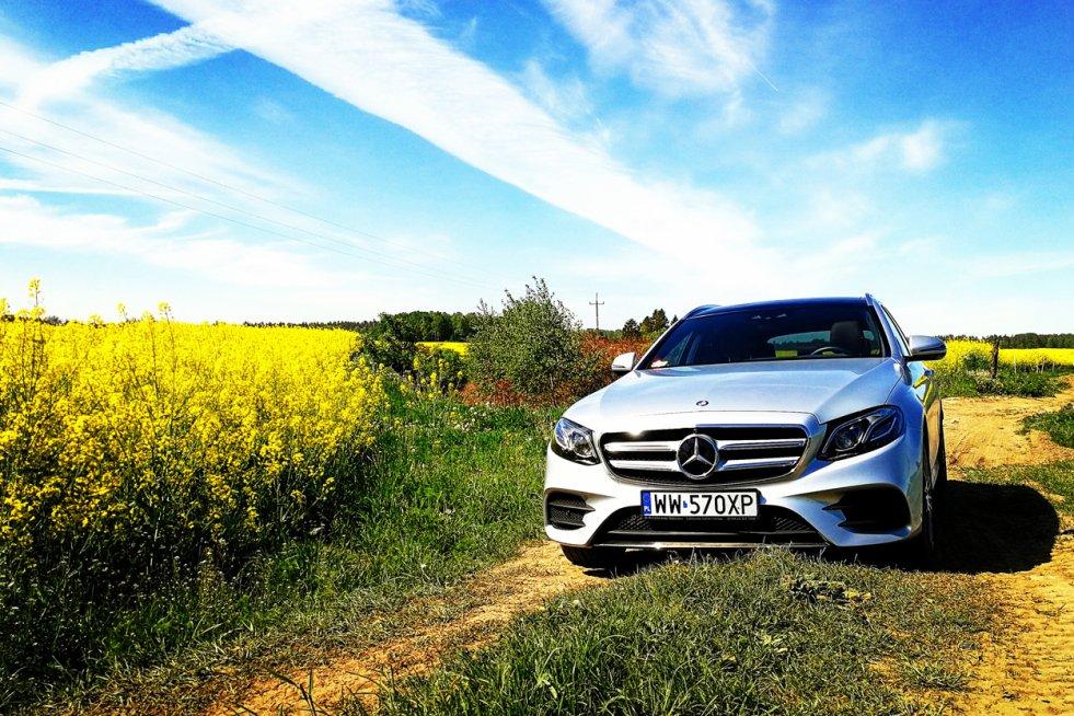 Mercedes klasy E w wersji combi to luksusowe i praktyczne auto.