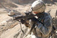 Amerykański żołnierz na patrolu w prowincji Paktika