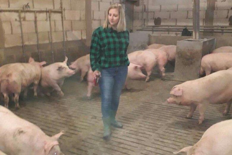 Patrycja Stempniak jest producentką bydła i świń