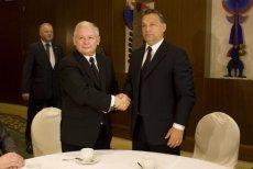 Jarosław Kaczyński spotykał się z Viktorem Orbanem, teraz odcina się od premiera Węgier.
