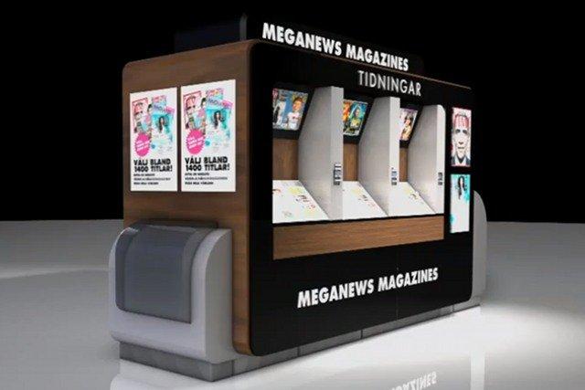 Kioski MegaNews pełnią także funkcję drukarni