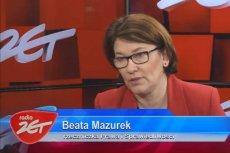 Rzeczniczka PiS Beata Mazurek ma wytłumaczenie na wszystko. Niestety każde kuriozalne.