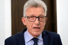NSA: Kancelaria Sejmu powinna udostępnić wykaz nazwisk sędziów popierających kandydatów do Krajowej Rady Sądownictwa. Stanisław Piotrowicz był jednym z obrońców nowelizacji ustawy o KRS.