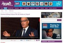 Premier Libii porwany