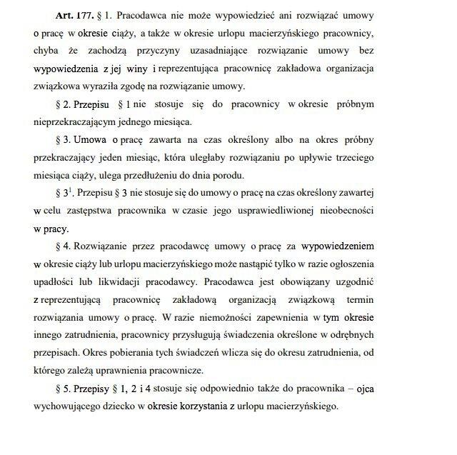 Kodeks Pracy z 1974 roku.