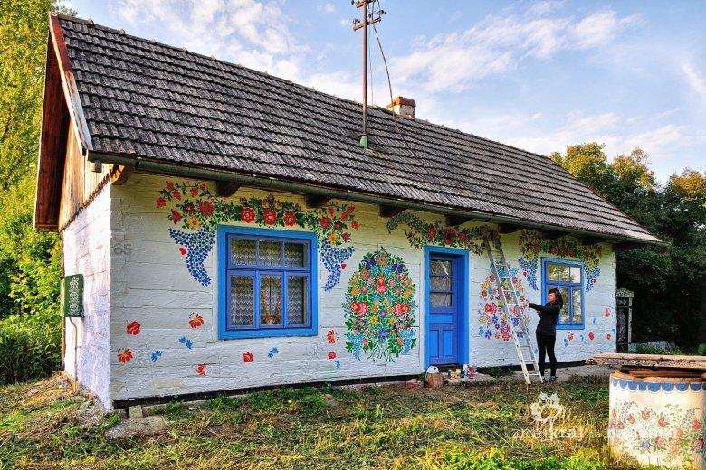 Malowana chata w Zalipiu