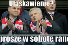 Piątkowe memy z Kwaśniewskim na stałe zagościły w polskim internecie.