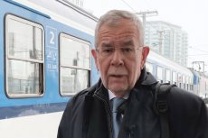 Alexander Van der Bellen przyjechał z Wiednia do Katowic drugą klasą PKP.