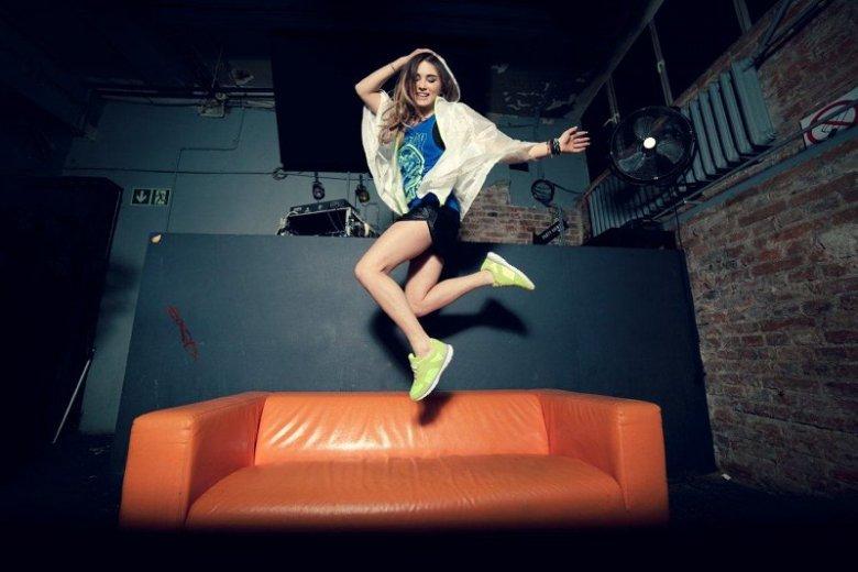 Julia Kuczyńska Maffashion w kampanii marki Bershka