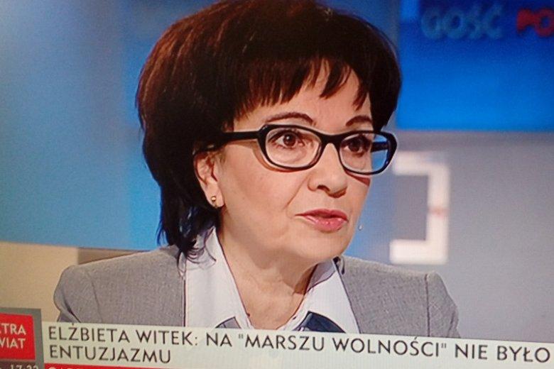 Niewygodne pytanie i unik. Elżbieta Witek zrzuca winę na poprzedników w sprawie, która PiS może sporo kosztować