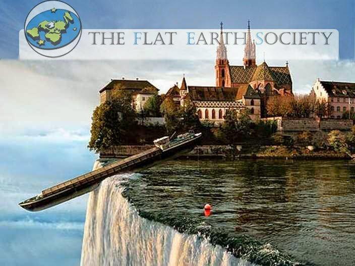 Tak to jest gdy nie wierzymy w płaską Ziemię!