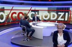 Posłanka Nowoczesnej wyszła ze studia TVP Info w trakcie programu.