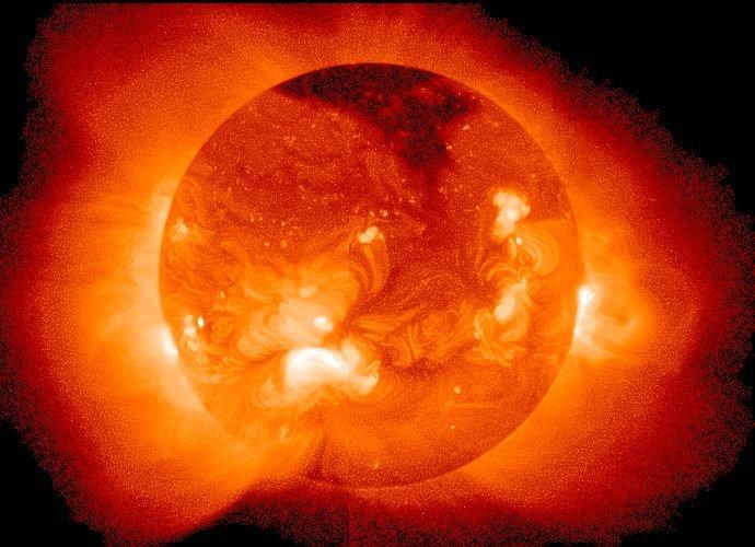 Zdjęcie rentgenowskie Słońca
