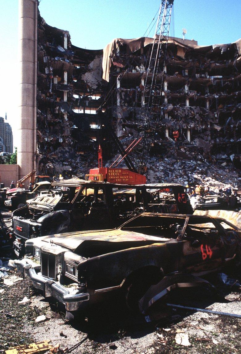 Skutki zamachu bombowego w Oklahoma City