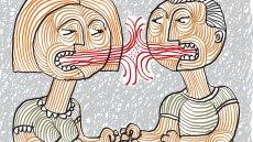 Dobry związek można poznać po tym, jak para się kłóci.