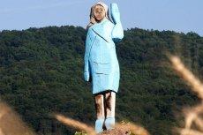 W Słowenii stanął bardzo osobliwy pomnik Melanii Trump.