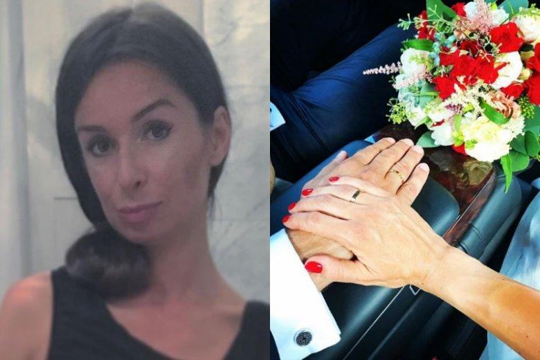 Marta Kaczyńska w miniony weekend wzięła ślub