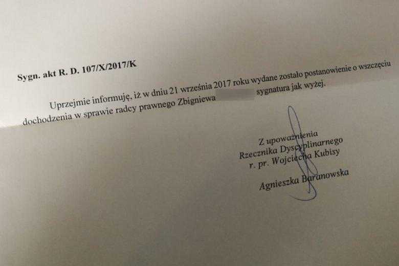 Pismo, które wpłynęło do redakcji naTemat