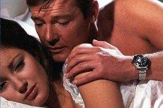 Nieśmiertelny Rolex Submariner na ręku Jamesa Bonda, w tym przypadku granego przez Rogera Moore'a