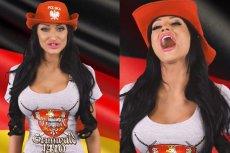 Małgorzata Godlewska tym razem wzięła się za wykonanie hymnu Niemiec.