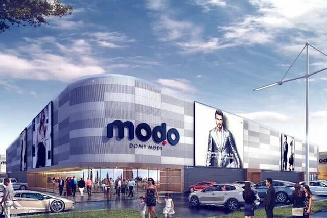 Modo - nowe centrum handlowe w Warszawie.