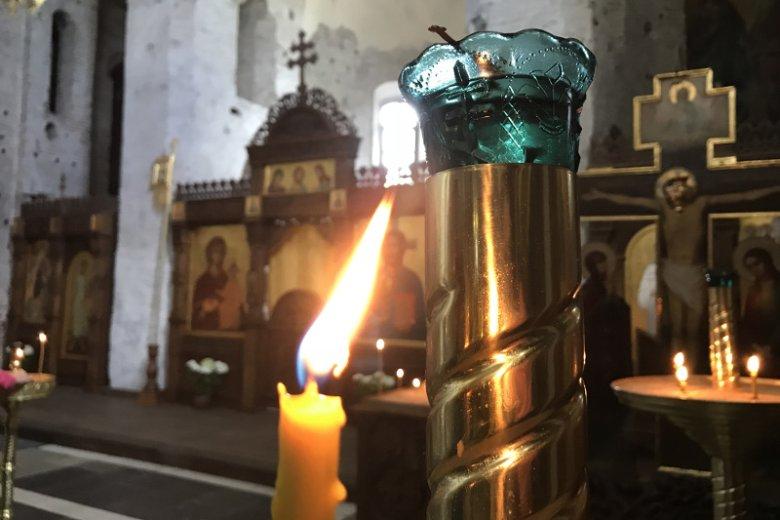 Cerkiew Świętych Borysa i Gleba w Grodnie, jedna z najstarszych w Europie Północnej, pochodzi z XII w.