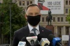 Prezydent Andrzej Duda w Katowicach skłamał ws. przebiegu epidemii koronawirusa na Śląsku.
