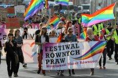 Ubiegłoroczny Marsz Równości we Wrocławiu